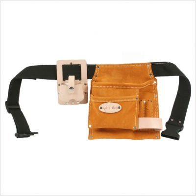 Style n Craft 91-489 5 Pocket Tool Belt With Tape Holder