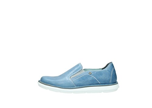 Wolky Comfort Slipons Flint 30820 Denim Leather mrDiDwR4