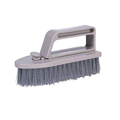 Multifunction Detachable Cleaning Brush Dual Purpose 2 in 1 Floor Cleaner Mops Soft Cleaning Supplies Home Cleaning by Wabaodan (Gray)