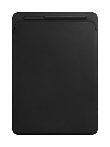 Apple Leather Sleeve for 12.9'' iPad Pro - Black by Apple