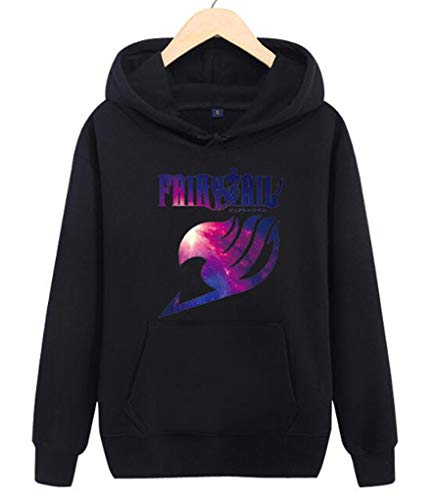 Ayazan Anime Fairy Tail Pullover Hoodie Sweater Cosplay Costume Sweatshirt Jacket (XXL, A) (Tail Hoodie Xxl Fairy)
