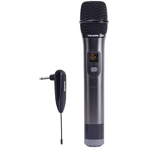 Wireless Microphone 900mhz (Karaoke USA Professional WM900 900 MHz UHF Wireless Microphone)