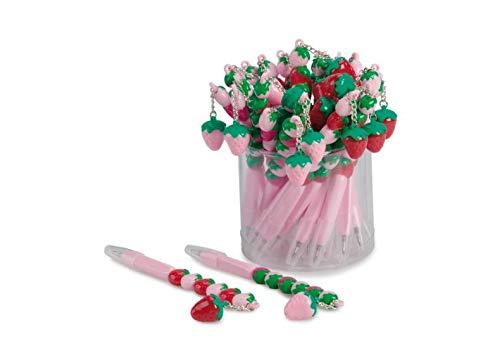 15h Storage - Junior star Set 10 Pcs Ass-Biro Strawberry, Pink and Fuchsia, 15h