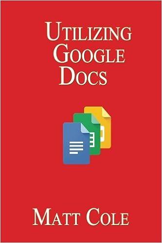 Utilizing Google Docs Matt Cole 9781544608464 Amazon Com Books