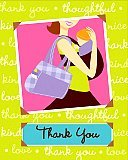 Mommy Chic Baby Shower Thank You Notes 8pk