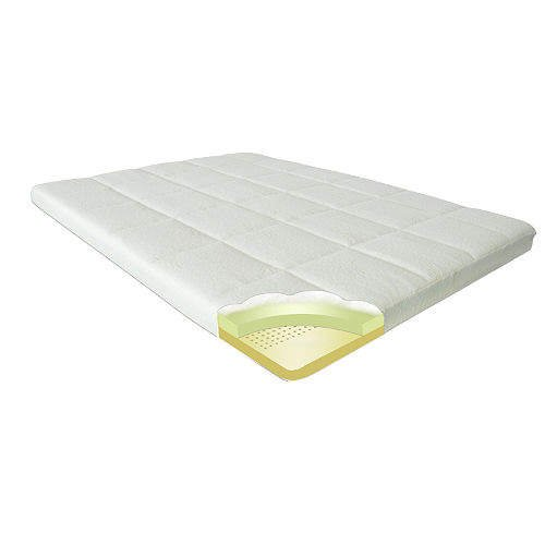 Zinus Night Therapy Memory Foam 4 Inch Pressure Relief Mattress Topper, Queen