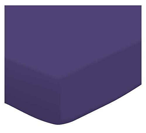 SheetWorld Crib / Toddler Sheet - Purple Jersey Knit - 28...