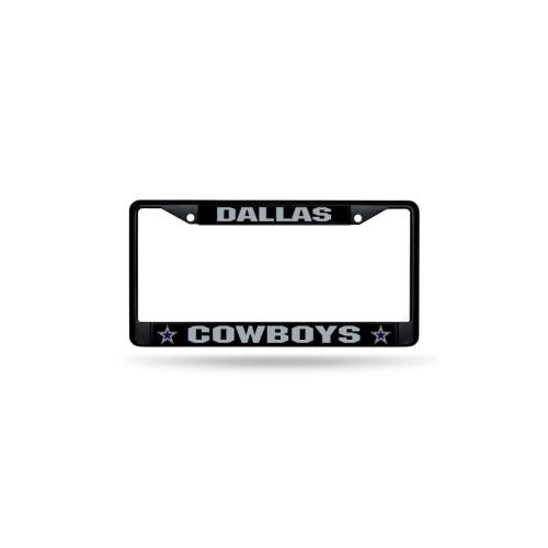 RICO INDUSTRIES, INC.. NFL Black Metal License Frame (Dallas Cowboys Merchandise)