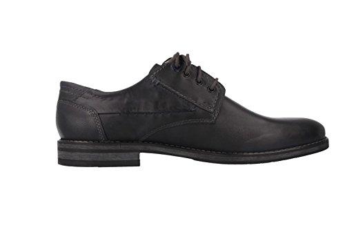Andrew fRETZ mEN-business chaussures homme noir chaussures en matelas grande taille