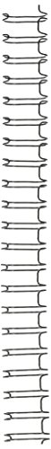 GBC WireBind Binding Spines / Spirals, 2:1 Pitch, 5/8
