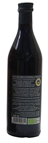 Duke's Balsamic Vinegar of Modena I.G.P., Produced with Organic Grapes ,500ml /16.91 fl.oz [ Italian Import ] 2 Delicious balsamic vinegar from Modena, protected geographical indication! Acidity: 6% Perfect for your salads and many other dishes!