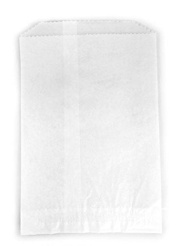 Glassine Bags Favor (- 100 - Flat Glassine Wax Paper Bags - 5 1/2