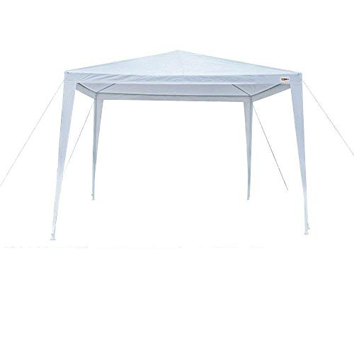 VINGLI 10′ x 10′ Outdoor Canopy Wedding Party Tent, Upgraded Thicker Tube Steady Unique Frame Design,Sun Shelter Anti-UV,Event Gazebo Pavilion Beach Backyard Patio Garden