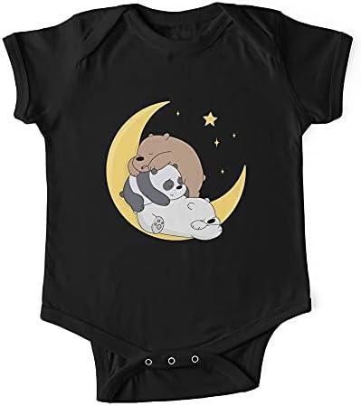 HABAH We Bare Bears - Body para bebé de una pieza