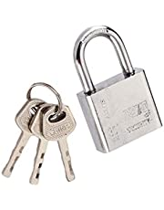 YOURPAI 30mm RVS hangslot Heavy Duty Solid Lock deur Gate Box Veiligheid Antirust