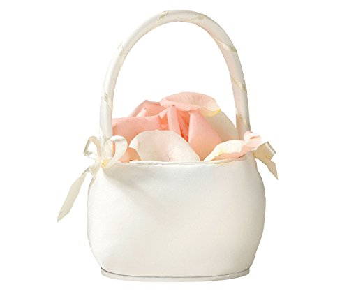 - Flower Girl Basket Color: Ivory