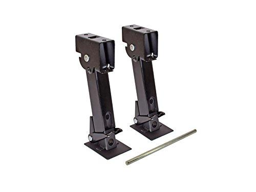 RAM Pair of Telescoping Trailer Stabilizer Jacks (SJK-650) - Pair - Including Handle (Atwood Jack Stabilizer)