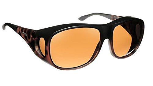 Haven Fits Over Sunwear Summerwood Polarized Square Sunglasses,Dark Tortoise,64.2 - Haven Glasses