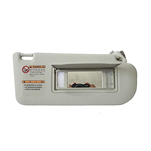 QPaq Car Accessories With Lamp Sun Visor For M6 With A Make-up Mirror Sun Visor (RH passenger side):