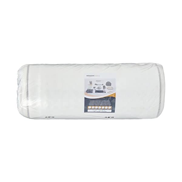 AmazonBasics - Materasso extra comfort a 7 zone a molle, Medio, 80 x 190 cm 6 spesavip