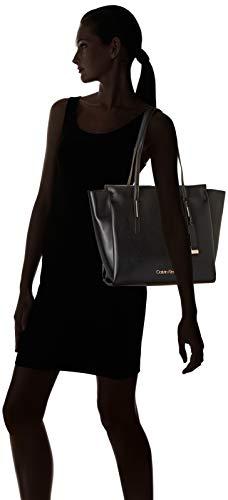 Bolso la Mujer de Black Negro mujer Klein K60K604453 Calvin PqS7OO