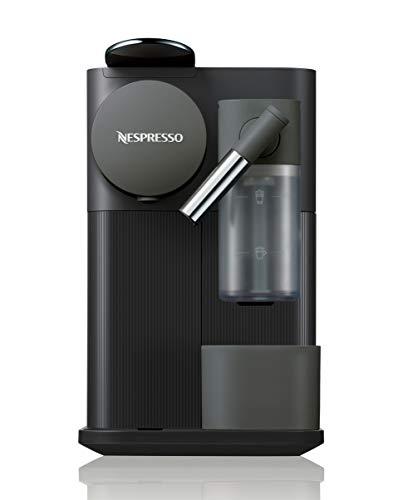 Nespresso Lattissima One Original Espresso Machine with Milk Frother by De'Longhi, Black