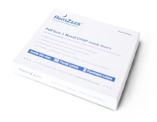 RemZzzs Full Face Cpap Mask Liners (K4-FS) - Reduce Noisy Air Leaks and Painful Blisters - Cpap Supplies and Accessories - Compatible with Fisher Paykel and Hans Rudolph - Hans Rudolph Mask