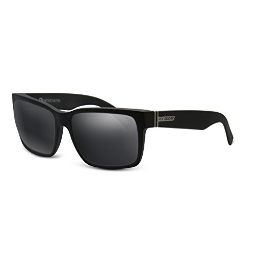 Black (Dark Grey) NON POLARIZED Replacement Lenses for Von Zipper - Sunglasses Elmore Von Zipper