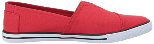 BOBS from Skechers Womens Lotopia-Pleasantville Fashion Sneaker, Red red