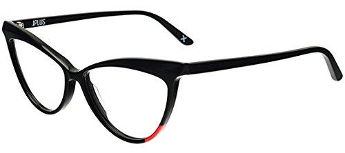 Jplus - Gafas de sol - para mujer negro Shiny Black 54/14 ...