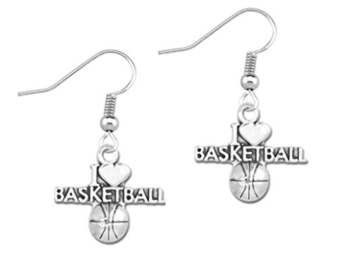 Basketball Earrings- Basketball Jewelry For Girls- Perfect Baketball Gifts for Women