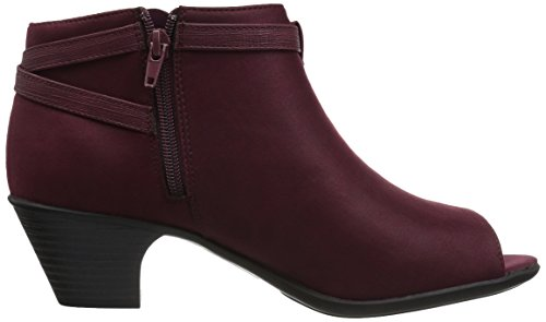 Easy Street Womens Sparrow Burgundy Super Suede 9qUxHMSyY
