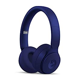 Beats Solo Pro WirelessNoise Cancelling On-Ear Headphones – Apple H1 Headphone Chip, Class 1Bluetooth, Active Noise Cancelling, Transparency, 22 Hours Of Listening Time– Dark Blue