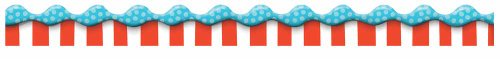 Eureka Dr.Seuss 'Cat in The Hat' Bulletin Board Trim and Classroom Decoration for Teachers, 12pc, 3.25'' W x 37'' L -