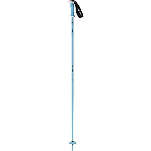 oles - Women's Light Blue/Green, 115cm (Atomic Ski Poles)