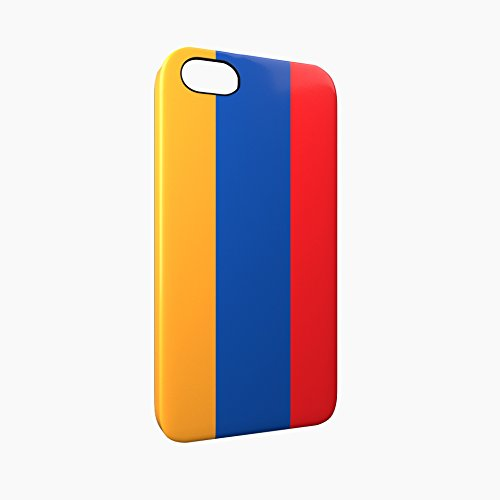 Flag of Armenia Glossy Hard Snap-On Protective iPhone 5 / 5S / SE Case Cover