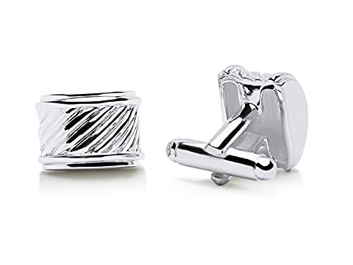 (Classic Ribbed Sterling Silver)