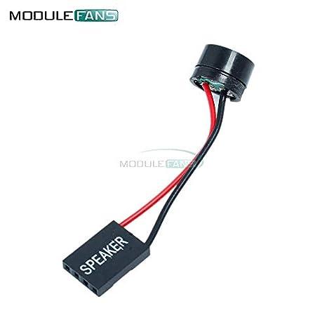 10 unidades de mini conectores de coche para PC Interanal BIOS Ordenador Placa base Case Buzzer Board Beep Alarm