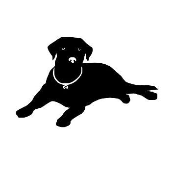 Europa Decoración Del Hogar Mentira Labrador Etiqueta De La Pared ...