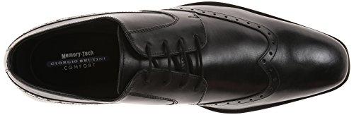 Giorgio Brutini Heren Kwitt Oxford Dress Shoe Zwart
