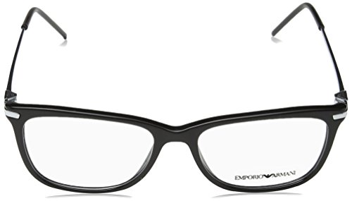 4e7b52dc027 EMPORIO ARMANI Eyeglasses EA 3062 5017 Black 54MM  Amazon.ca  Shoes    Handbags