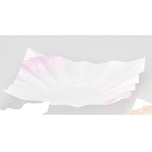 紙すき鍋冬の華(冬)(300枚) [24 x 24cm ] 【紙鍋】 輸入 | 料亭 旅館 和食器 飲食店 おしゃれ 食器 業務用 B01MR56IKP
