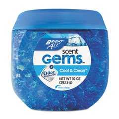 * Scent Gems Odor Eliminator, Cool & Clean, Blue, 10 oz