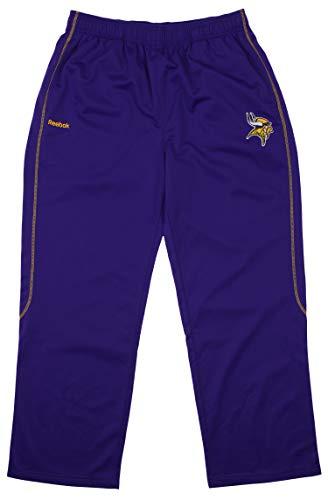Reebok NFL Mens Athletic Pants - Team Options (X-Large, Minnesota Vikings - -