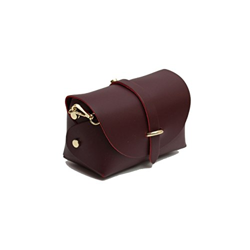 fastening strap with bag desigined A with Burgundy chain evening belt beautifully detatchable clutch gold ZnWW6gqH