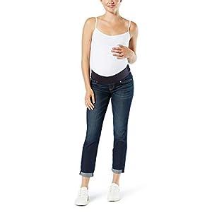 Women's Maternity Baby Bump Slim Boyfriend Jeans