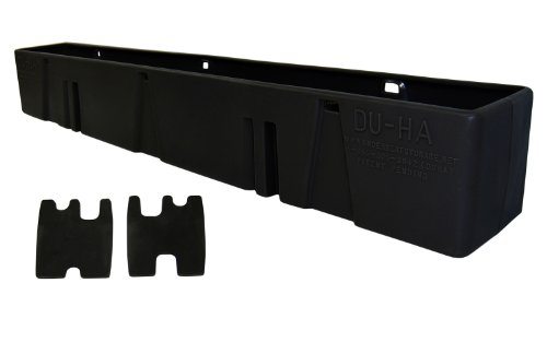 - DU-HA Behind-the-Seat Storage Fits 88-98 Chevrolet/GMC C/K Model Regular Cab, Black, Part #10038