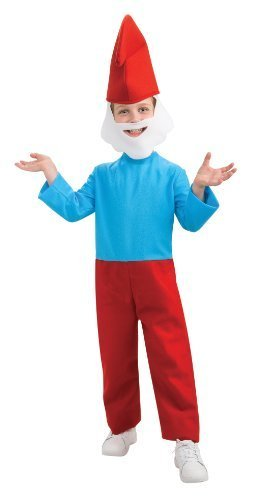 [The Smurfs Movie 2 Papa Smurf Costume, Small] (Smurf Costume 2 Year Old)