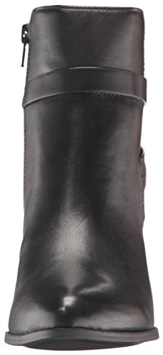 cheap sale new arrival Anne Klein Women's Globalist Leather Ankle Bootie Black very cheap for sale low price fee shipping sale online g277i45C