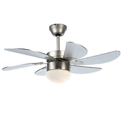 Modern 30 inch 76 cm ceiling fan with light remote control amazon modern 30 inch 76 cm ceiling fan with light remote control aloadofball Images